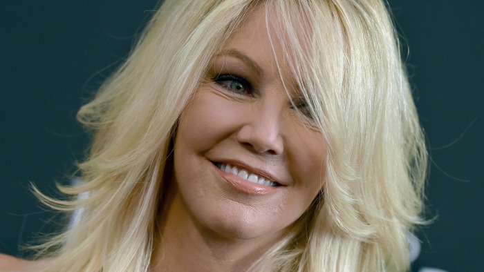 Heather Locklear hospitalized after driving Porsche into a ditch