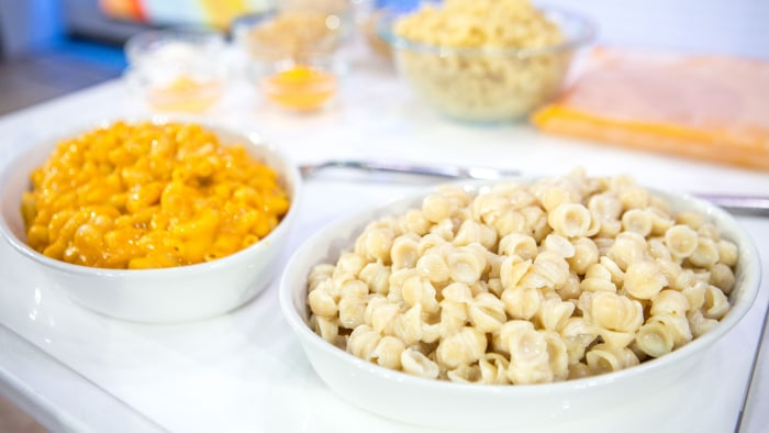 Dr Oz' healthier Mac and Cheese