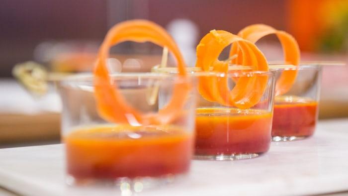 Jamie Geller's Carrot-Beet Borscht