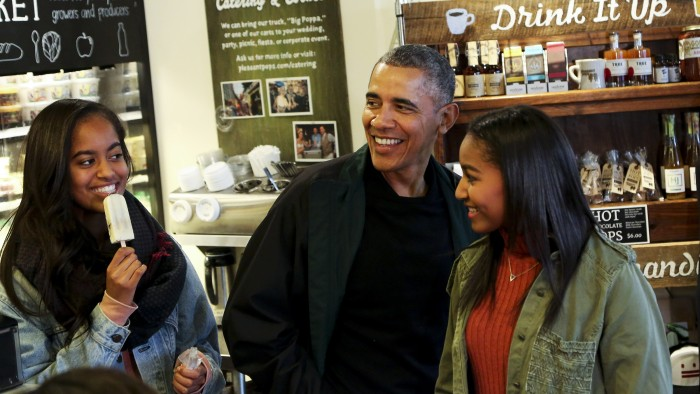 Barack Obama recounts tearful moment he dropped Malia off at Harvard University