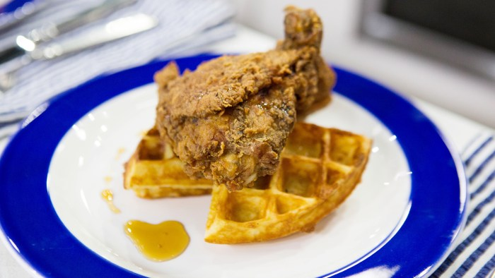 John Seymour's Chicken and Waffles