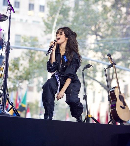 Havana Live Camila Cabello: Camila Cabello Brings 'Havana' Heat To The TODAY Plaza