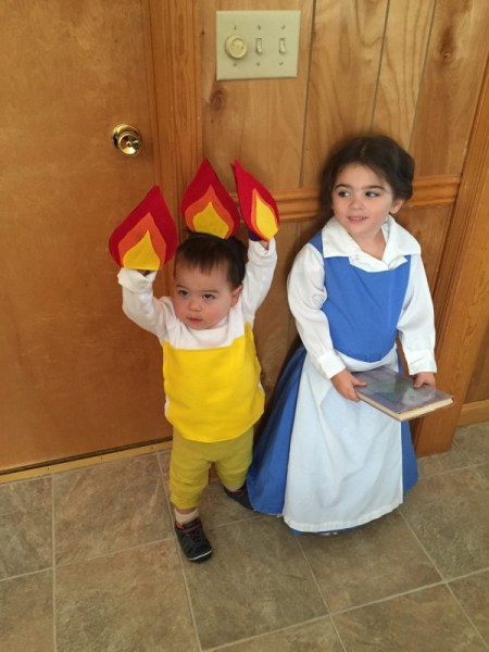 31 Days Of Halloween Costumes Belle And Lumiere