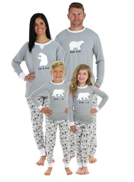 Family Pajamas Christmas Matching
