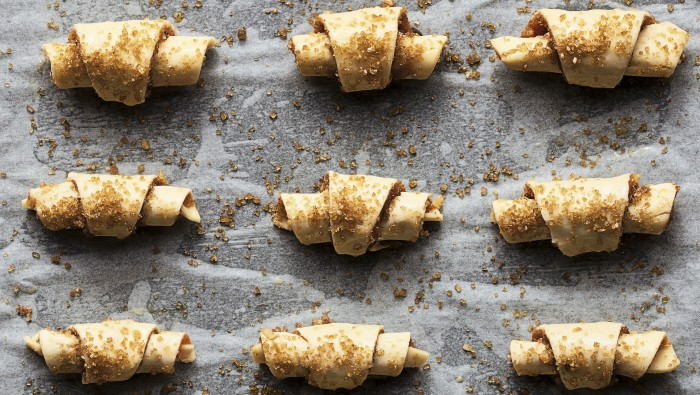 Quince and Walnut Rugelach