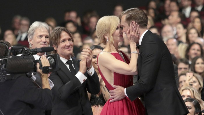 Nicole Kidman Finally Explains That Emmys Kiss With Alexander Skarsgard