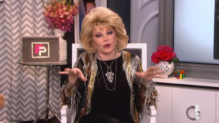 'Fashion Police' series finale to feature previously unseen Joan Rivers footage