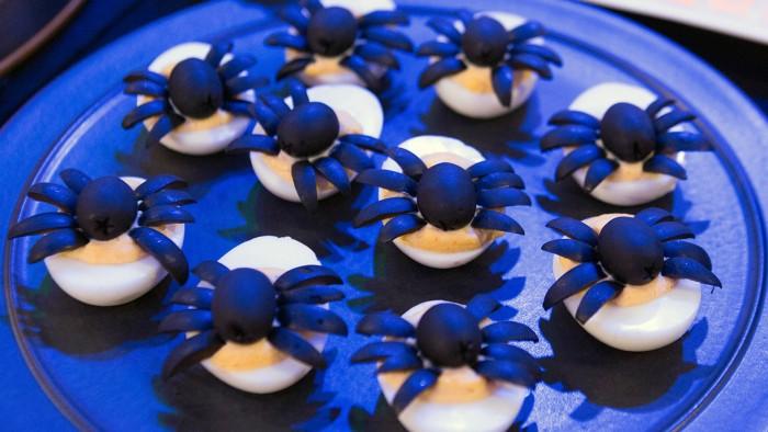 Elizabteh Heiskell's Spooky Spider Eggs