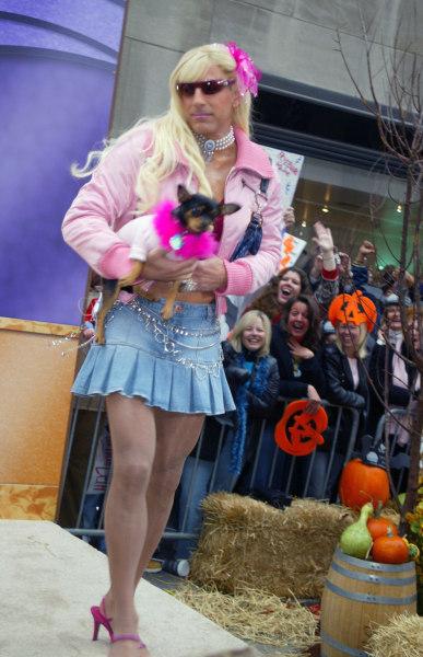 Matt Lauer Dresses Up As Dolly Parton For Halloween