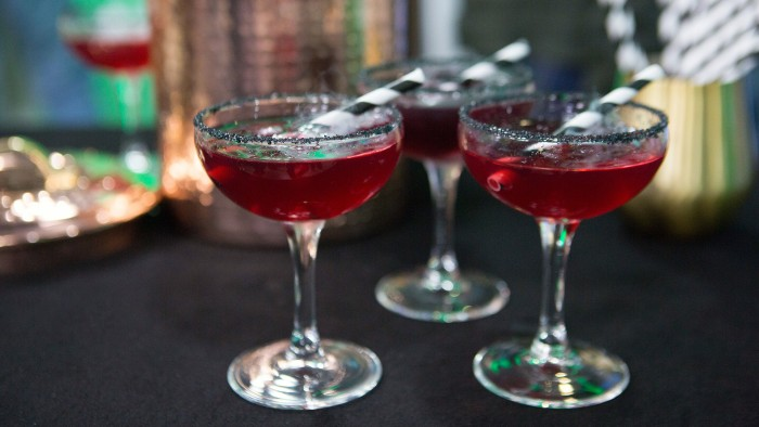 Nikki Pechet's Smoking Blackberry Margarita