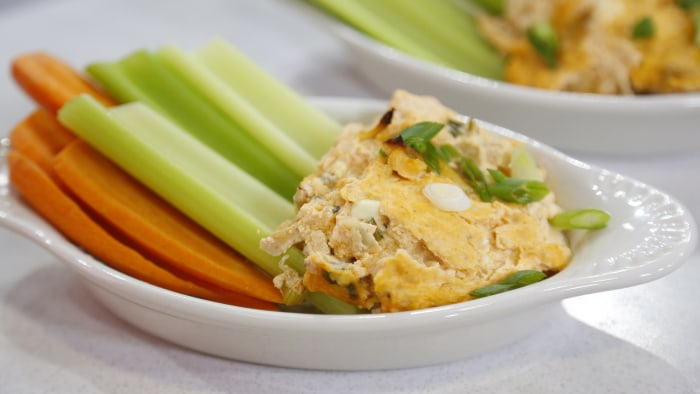 Joy Bauer's Healthy Buffalo Chicken Dip