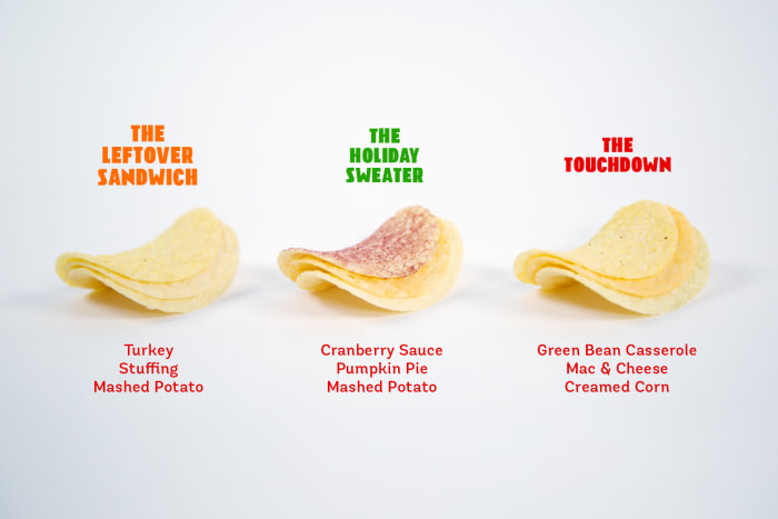Pringles unveils tray of eight Thanksgiving-themed crisps