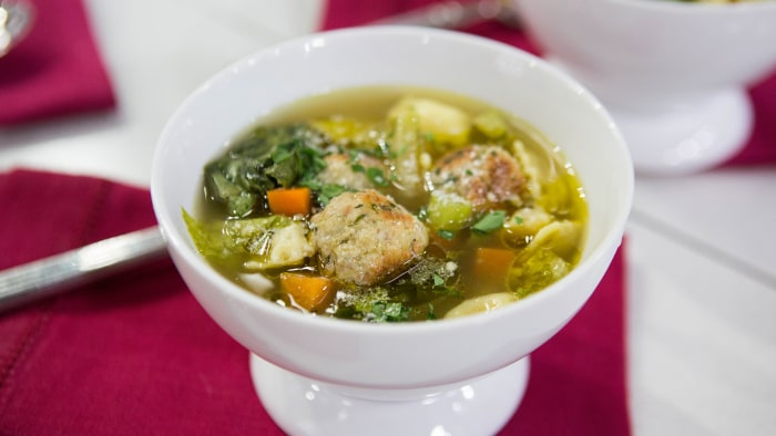 Mario Carbone's Italian Wedding Soup