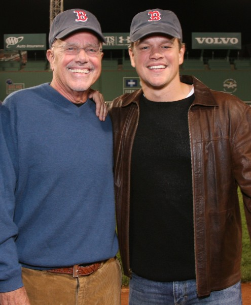 Matt Damon Asks for Prayers While Announcing His Father's Really Sick