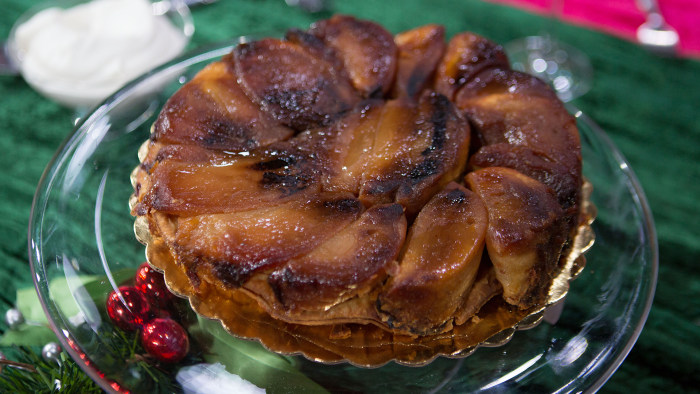 Bill Yosses' Maple Tarte Tatin