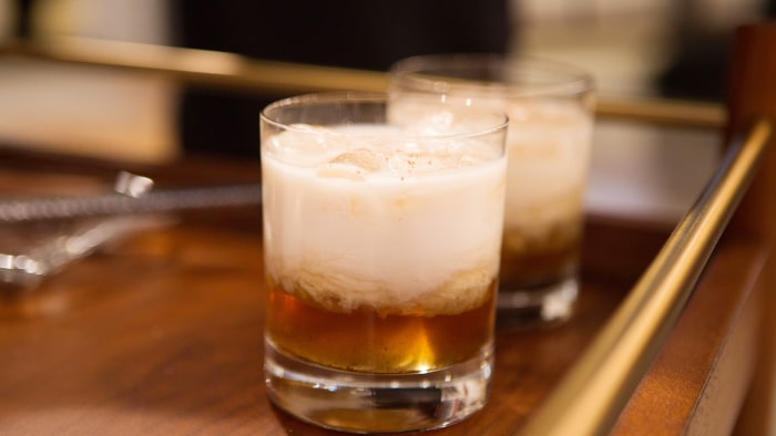 """Jeff Mauro, host of """"The Kitchen"""" on Food Network, joins Megyn Kelly TODAY to demonstrate how to make delicious holiday cocktails, including chocolate mint eggnog, a hot toddy, and a seasonal spin on a white Russian than Jeff calls an """"off-white Chr"""