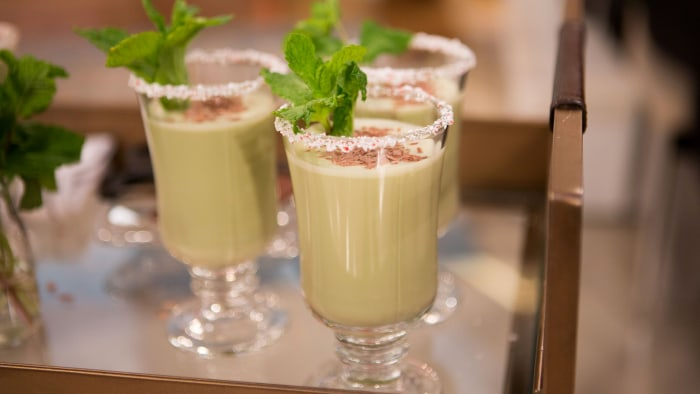 Mint chocolate egg nog today jeff mauro host of the kitchen on food network joins megyn kelly forumfinder Images