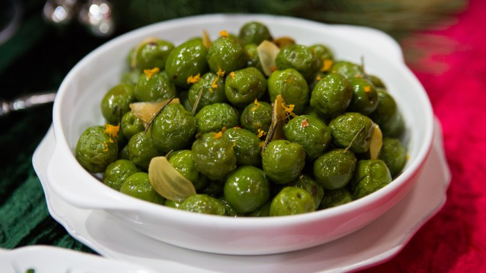 Roasted Olives with Orange and Rosemary