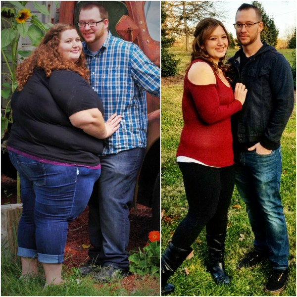 Couple loses 400 pounds in 2 years on inspiring journey