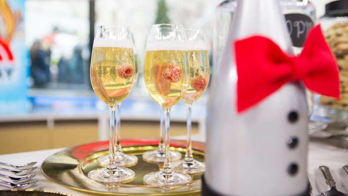 John Frasier's Champagne Cocktail
