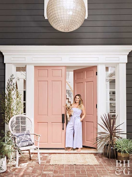 Hilary Duff Home Tour On Better Homes And Gardens