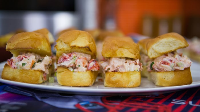 Siri's Lobster Sliders