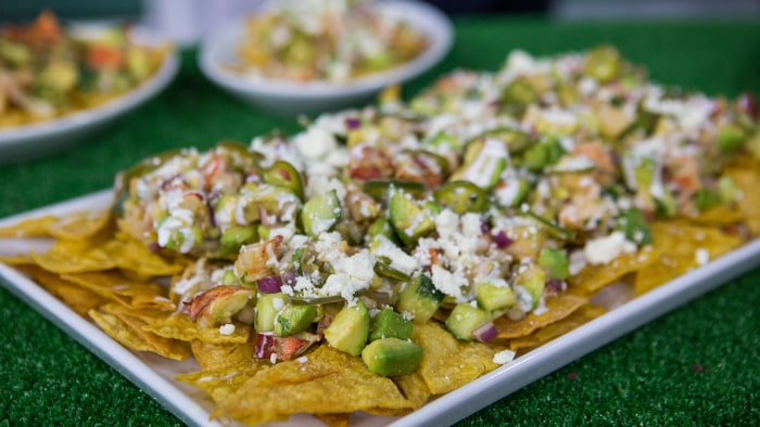 Matt Jennings Lobster Nachos