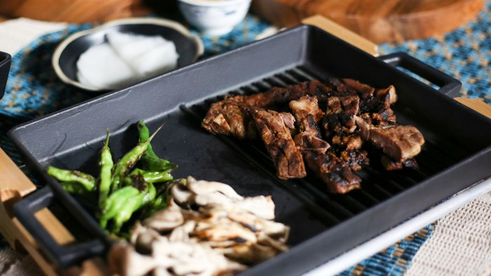 Deuki Hong's Kalbi (Grilled Pork Spare Ribs)