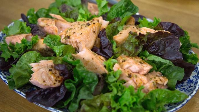 Nigella Lawson's Roast Loin of Salmon