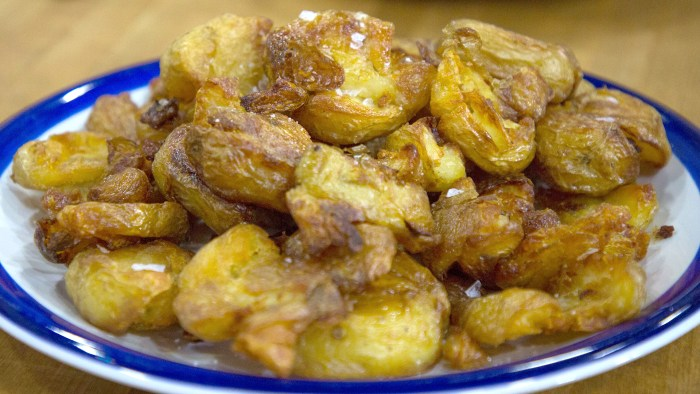 Nigella Lawson Salt & Vinegar Potatoes