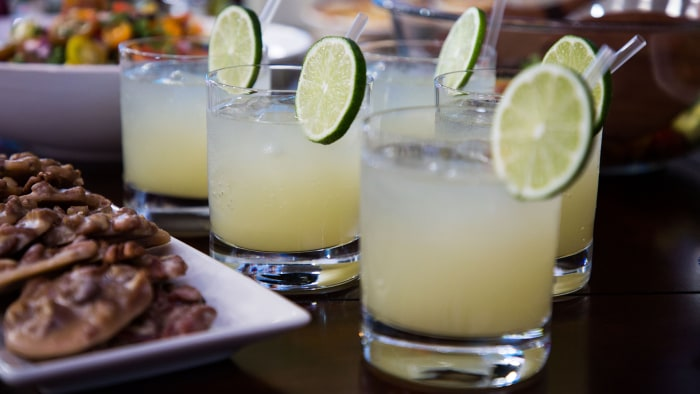 Smollett Siblings Fresh Lime Margarita