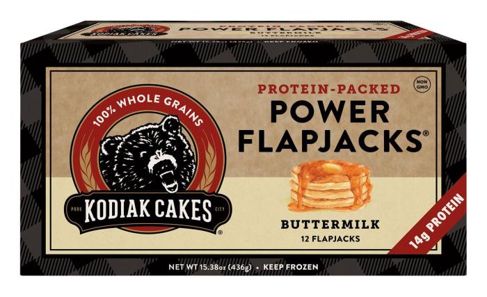 Kodiak Power Cakes Calories