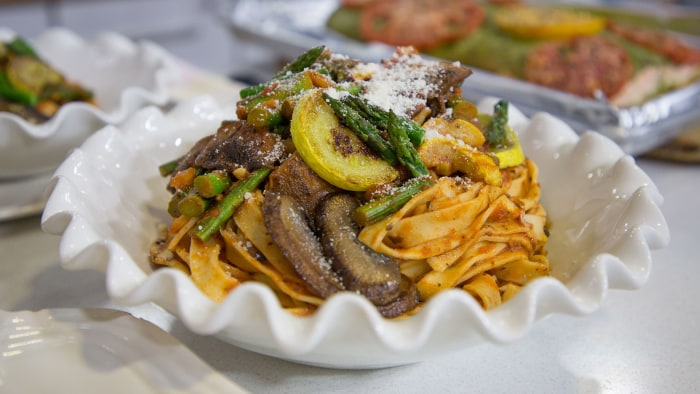 Sami Kotb's Mixed Vegetable Pasta