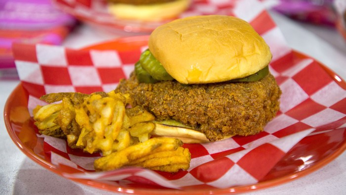 John Seymour's Nashville Hot Chicken Sandwich