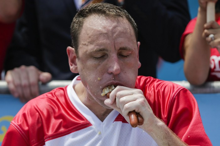 Who Won Hot Dog Eating Contest Today