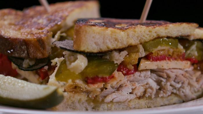 Lance Bass COLD CUTS Sandwich