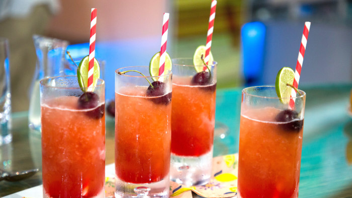 Cherry Beer Slushies