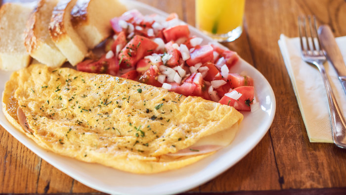 Martha Stewart's Herb-Filled Omelet Recipe