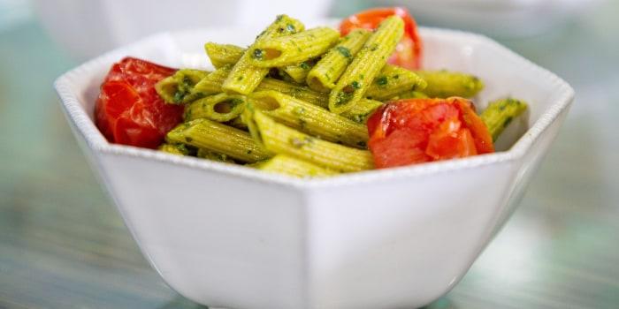 Joy Bauer's Creamy Broccoli Soup, Burrito Bowls, Kale Pesto Pasta