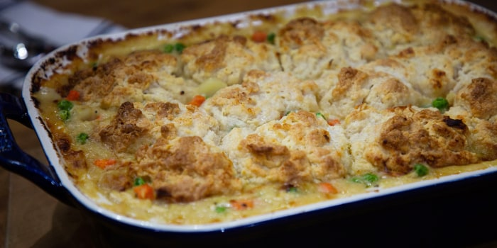 Melissa Clark's Chicken Pot Pie Casserole