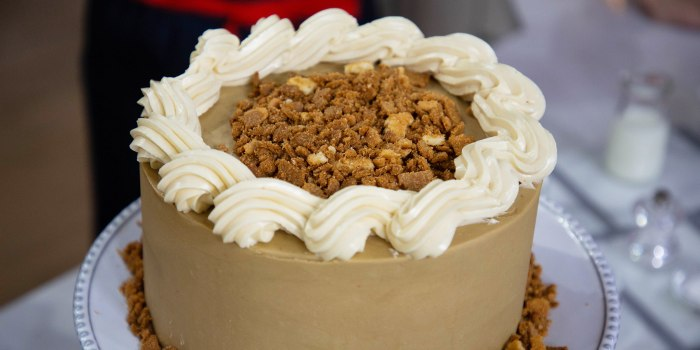 Gesine Bullock-Prado's Caramel Cake + Carrot Cake