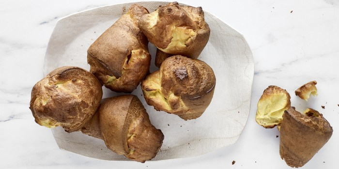 Crisp and Custardy Popovers