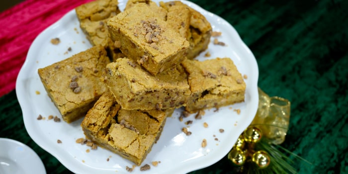 Ingrid Michaelson's Brown Butter Blondies