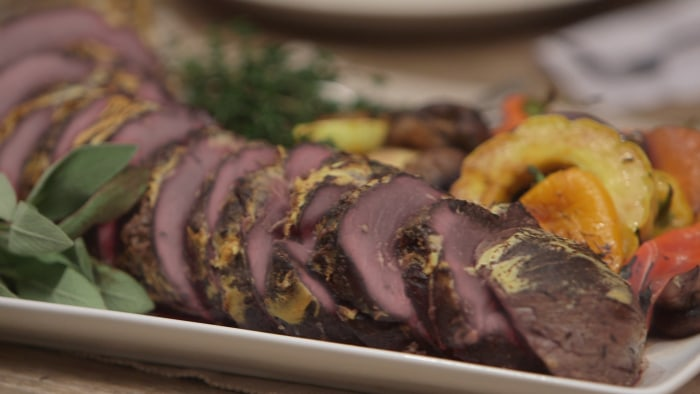 Joy Bauer's easy and healthy holiday tenderloin roast
