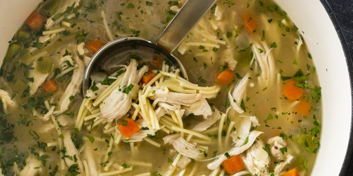 oldfashioned chicken noodle soup  today