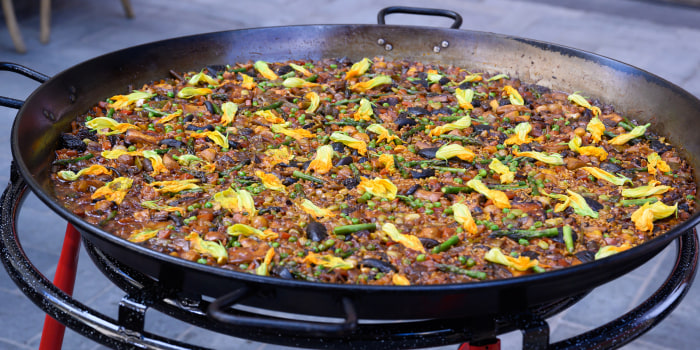 Jose Andres' Vegetable Paella