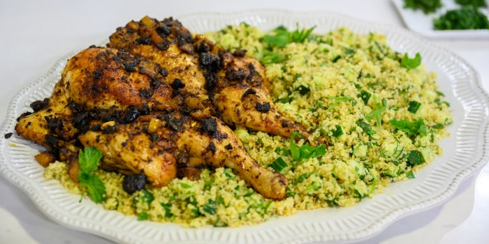 Clodagh McKenna's Spatchcock Chicken and Bulgur Wheat Salad