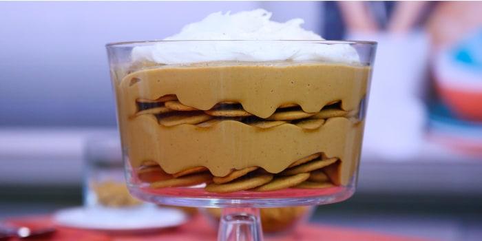"VALERIE BERTINELLI: ""Hamburger Helpa"" + Pumpkin Pudding"
