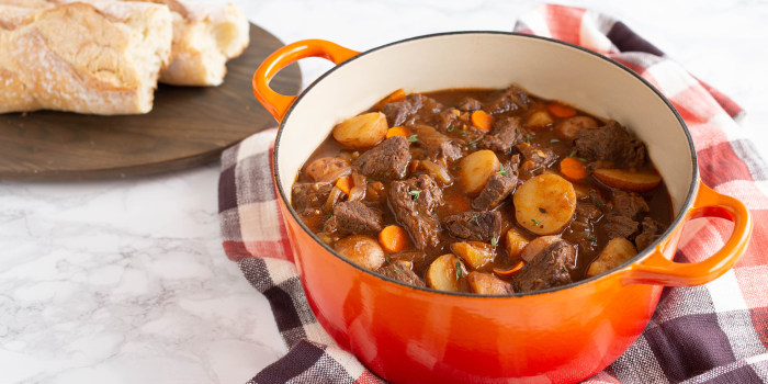 One-Pot Beef Stew with Ketchup