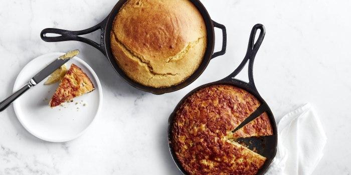 Al Roker's Skillet Corn Bread, Two Ways